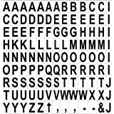 Bi-silque Visual Communication MasterVision Magnetic Accessory, Letters, Black on White