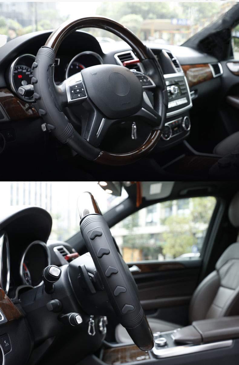 Dimensione Universale Gel di Silice Accessori Anti Scivolo per Quattro Stagioni Grigio KRUIHAN Coprivolante per Auto Protettore