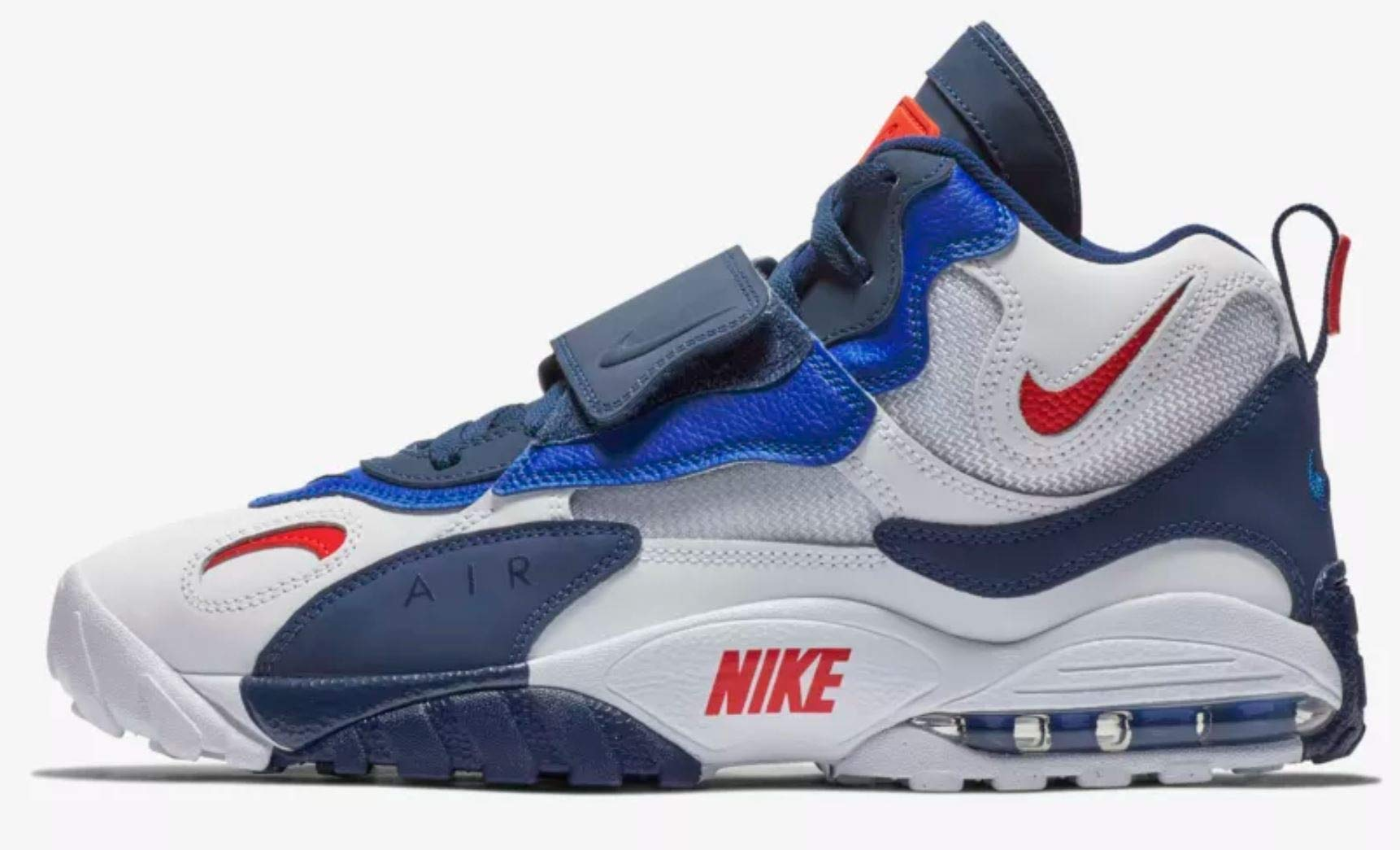 Nike Air Max Turf White/University Red-Blue Void (11 D(M) US)