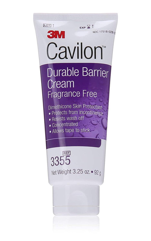 3M Cavilon Durable Barrier Cream Fragrance Free 3.25 Oz Tube 1/ea 3355