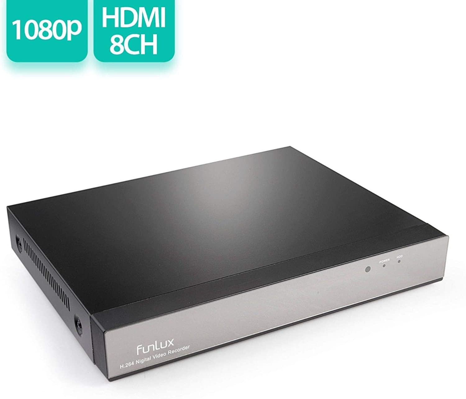 Funlux NS-S81A-S 8 Channel H.264 720p HD NVR No HDD