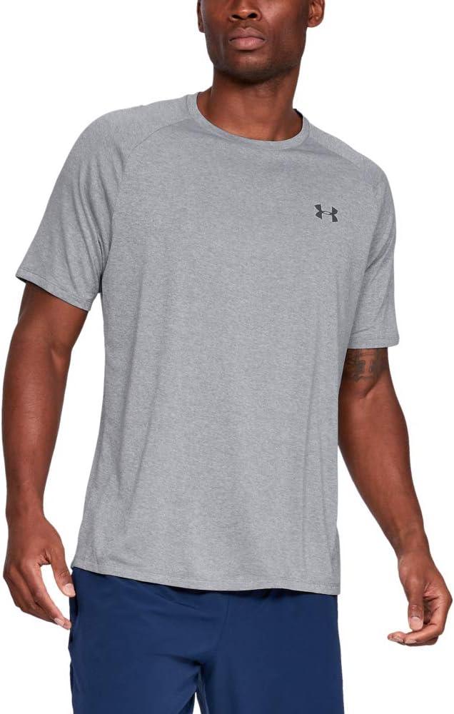 Under Armour Hombre Tech 2.0 Shortsleeve, Camiseta
