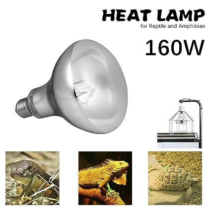 mewmewcat E27 Lámpara de Calefacción de Cerámica para Reptiles y ...