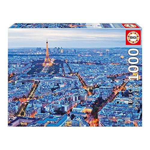 Educa Children's 1000 Paris Lights Puzzle (Piece)