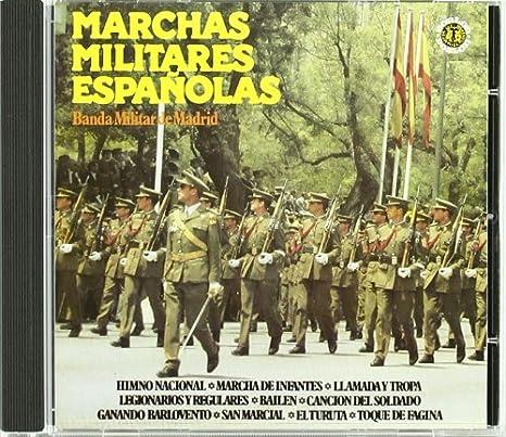 Marchas Militares Españolas : Banda Militar Madrid: Amazon.es: Música