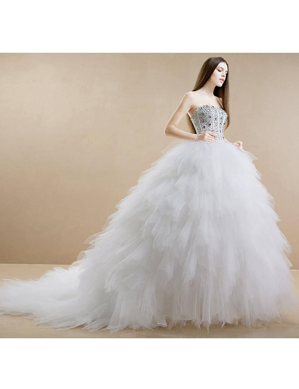 Lactraum HS1054 Schwan Brautkleid Hochzeitskleid Feder Schleppe ...