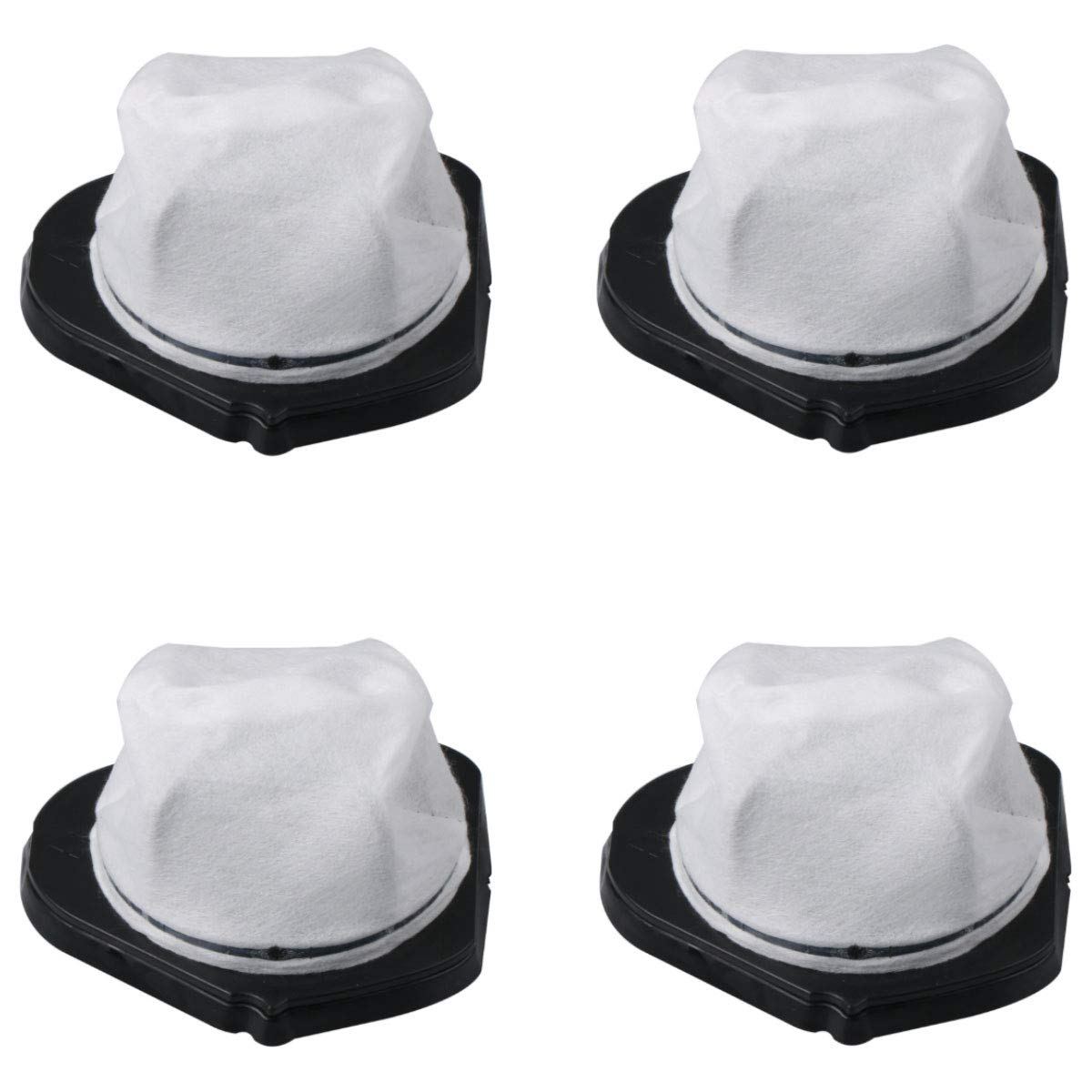 Aunifun 4 Pack Dust Cup Filters for Shark SV75Z Pet-Perfect Cordless Bagless Portable Hand Vacuum and Shark SV780 Shark SV726N, Replacement Part# XF769, XSB769N, XSB769, XSB736N