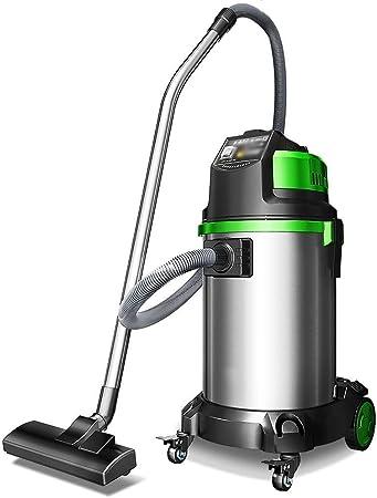 Aspirador sin cable Aspiradora - acero inoxidable de alta potencia del limpiador de alfombras de vacío húmedo