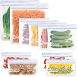 Bolsas Reutilizables para Almacenamiento de Alimentos, Bolsa Bocadillos Sándwich Merienda Porta Snacks, Bolsas de Conservació