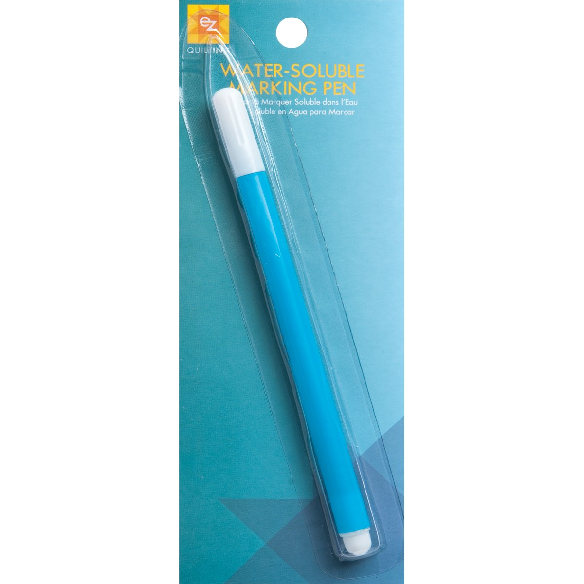 EZ Quilting 8823005A Water Soluble Marking Pen - Blue Simplicity