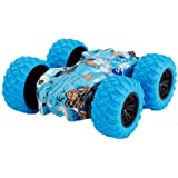 Inertia-Double Side Stunt Graffiti Car Off Road Model Car Vehicle Kids Toy for Boys and Girls Birthday Holiday New Year Gift