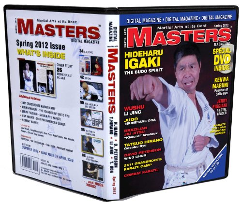 2012 Spring Issue of Martial Arts Masters Magazine Dvd/cd Set
