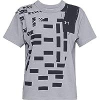 Under Armour Women's Graphic Patchwork Girlfriend Crew-GR T-shirts