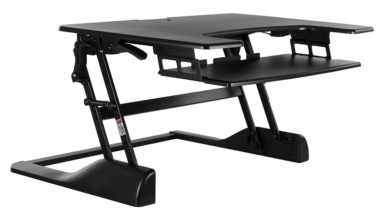 Amazon com : Mount-It! Standing Desk Sit-Stand Desk