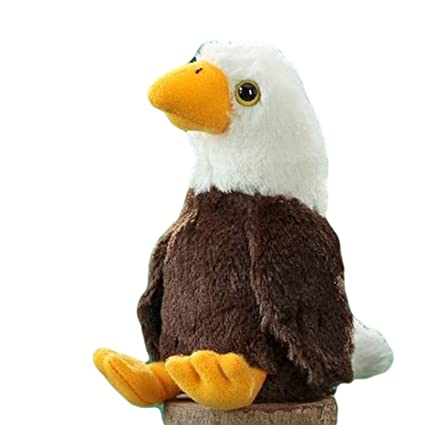 Amazon Com The Stuffed Animal House Baby Bald Eagle 6 5 Toys Games