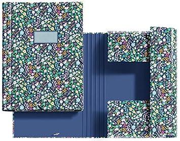 Jordi Labanda 20004 - Carpeta solapas wildflowers: Amazon.es: Oficina y papelería