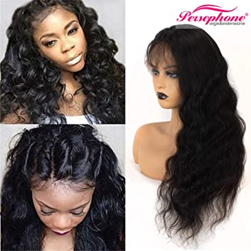 Persephone Brazilian Full Lace Wigs with