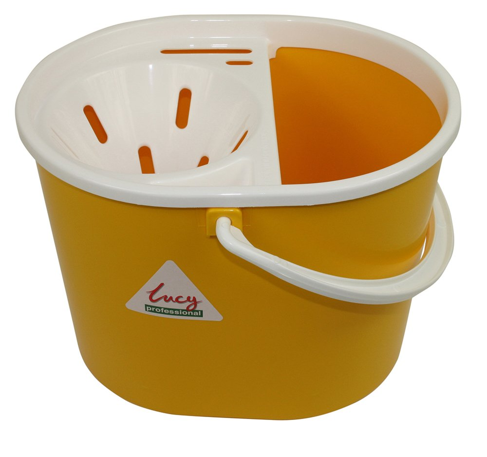Lucy Oval Mop Bucket Yellow 15 Litre SYR CL056-Y