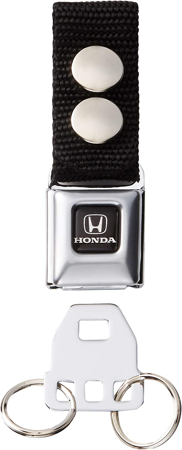 Multi-Colored Honda Motorcycle Full Color Black//white Black W Accessory Buckle-Down Keychain One Size