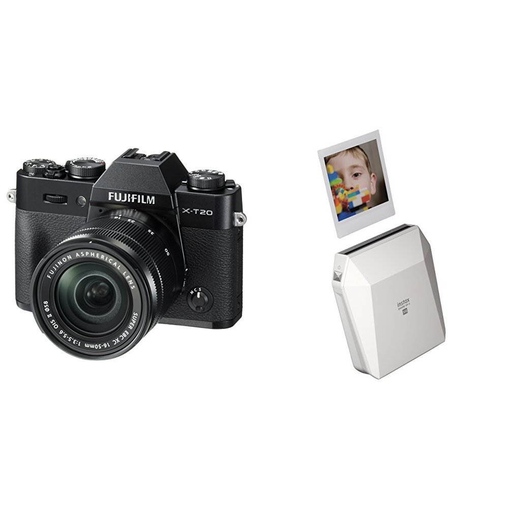 Harga Dan Spek Fujifilm X T20 Kamera Mirrorless Body Only Instax A5 Kit 15 45mm F35 56 Ois Pz Dark Silver Pwp Xf 50mm F2 Digital Camera W Xc16 50mmf3 Share Sp 2