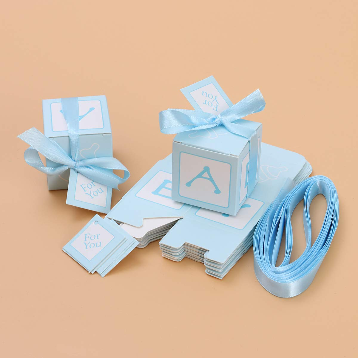 BESTonZON Cajas de Regalo Caja de Dulces de Colores Cajas de ...
