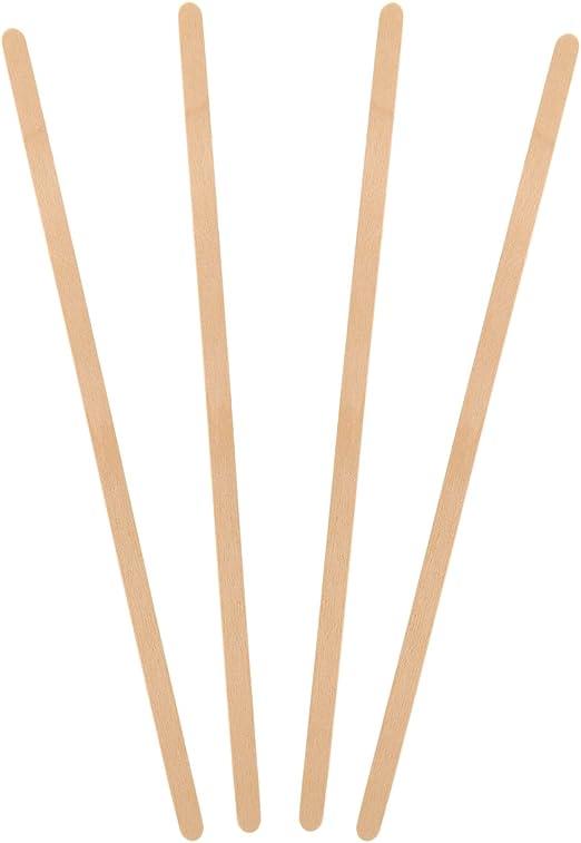 "1000 Stirrers//Box Royal Wood Wooden Coffee Stir Stirrers Sticks 5.5/"" Woodgrain"