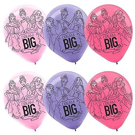 Amazon.com: Amscan – Las niñas Disney Princess Dream Big ...