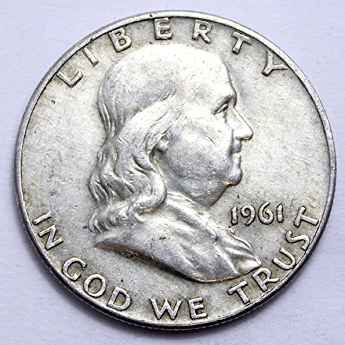 1961 Various Mint Marks Franklin Half Half Dollar Good
