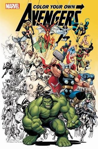Color Your Own Avengers