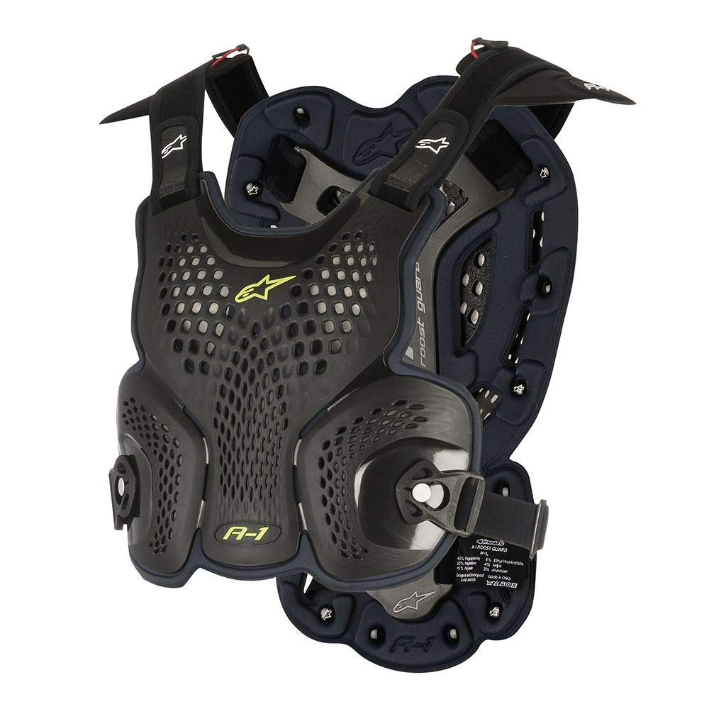 Alpinestars A-1 Roost Guard-Black/Antracite-M/L by Alpinestars