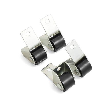 Design61 - Ruedas para muebles (4 unidades, 15 x 11,5 mm)