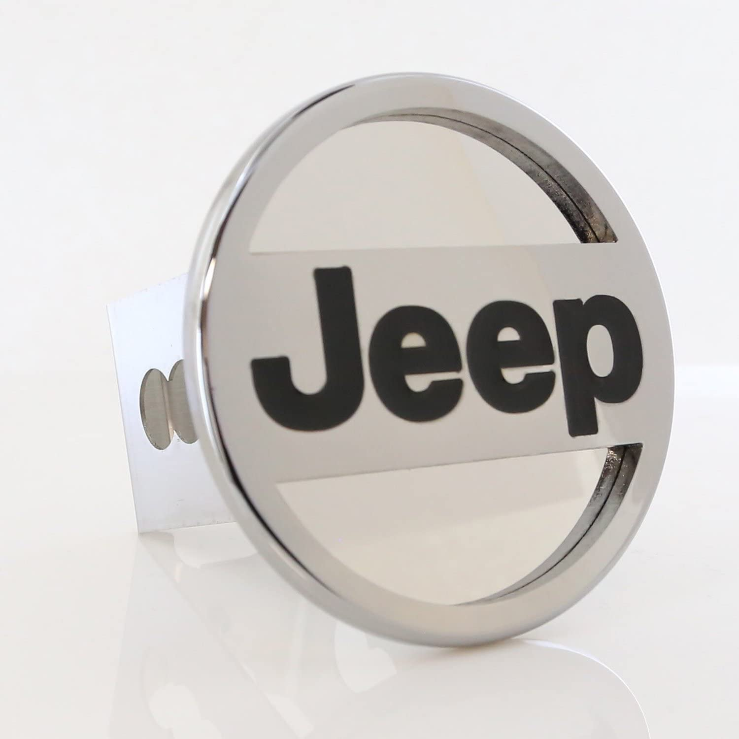 Jeep Logo Steel Tow Hitch Cover Plug