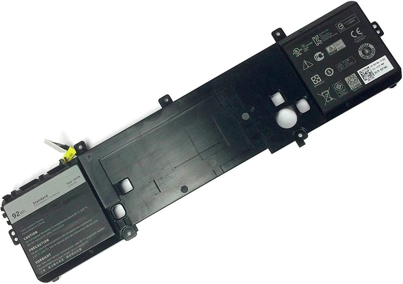 FLIW 191YN Replacement Battery Compatible with Dell Alienware 15 R1 R2 Series ALW15ED 2F3W1 [14.8V 92Wh]