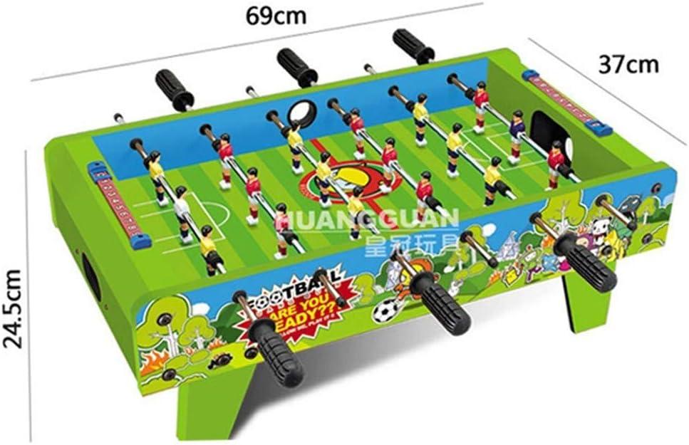LMCLJJ Mesa de futbolín de Mesa for Adultos y niños - Juego de ...