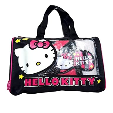 Image Unavailable. Image not available for. Color  Hello Kitty slumber set  3PC duffle bag ... 69b5971535b31