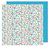 Amy Tan Sunshine & Good Times Patterned Paper 12 x 12'' Sew Fun (25 Pack), Piece