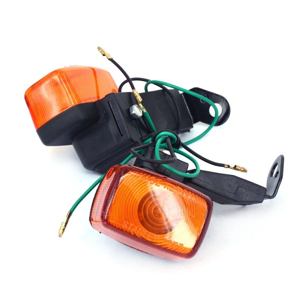Fast Pro Len Avant Les Tourner Indicateur de Signal Lampe de Lumiè re pour Yamaha Xt225 Ttr250 Klx250 Xr250