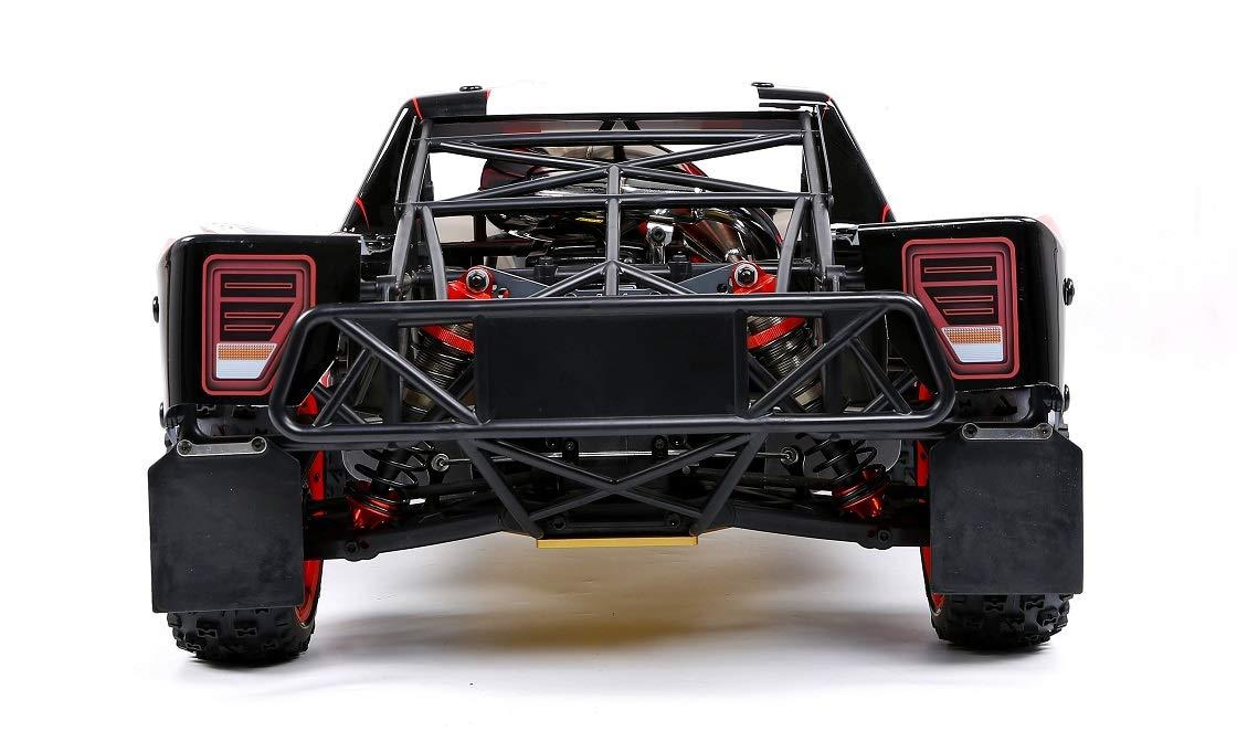 Monster Truck Coche Remoto por Todo Terreno Equipado con un motor fijo de gasolina de 45 puntos y cuatro cilindros, refrigerado por aire, de dos tiempos, ...