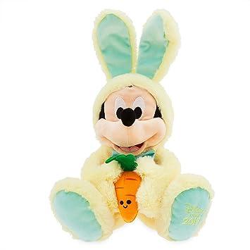 Disney Store Peluche Mediano Mickey Mouse Pascua 45cm: Amazon.es ...