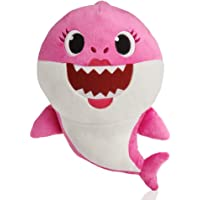Baby Shark- Peluche Musical Mommy Shark, Color rosa