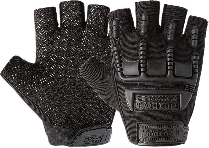 Handschuhe Fingerlos Schwarz Handschuhe Fingerlos Handhandschuhe Für Männer Zum Radfahren Bikerhandschuhe Für Männer Fahrradhandschuhe Damen Black Free Size Bekleidung