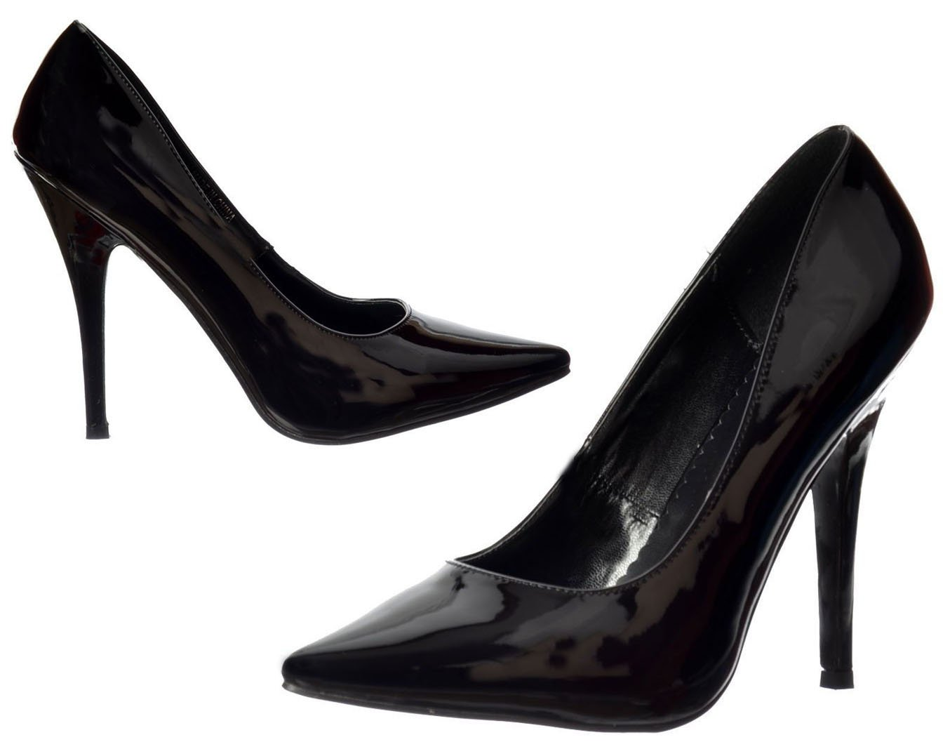 WOMENS MENS HIGH STILETTO HEEL FETISH GOING OUT COURT SHOES LARGE SIZES 3-12:  Amazon.co.uk: Shoes & Bags