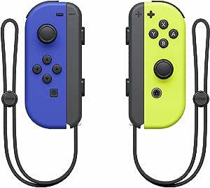 Nintendo 263801 Joy-Con Controleur, Blauw/Geel (Nintendo Switch)