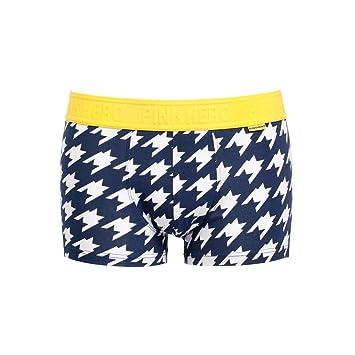 Calzoncillos ,DoraMe calzoncillos para Hombres, Pink Heroes Men Blue Ocean Boxer cortos (XL