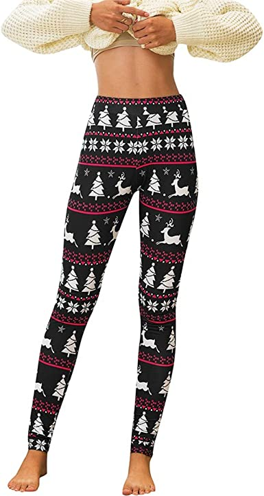 Bear Fabric Pattern Printed Leggings High Waist Leggings Christmas Leggings Bear Gift Christmas Outfit Polar Bear Leggings For Women