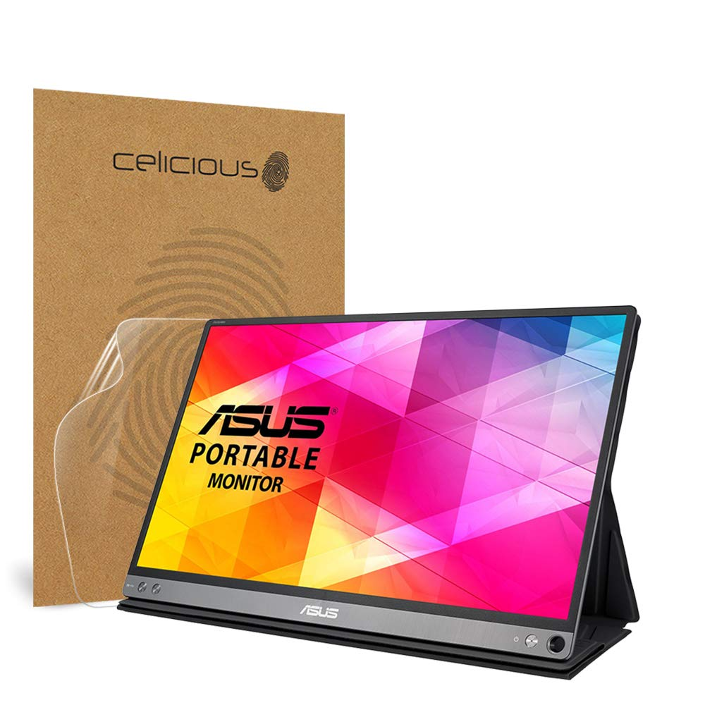 Celicious Impact Anti-Shock Shatterproof Screen Protector Film Compatible with ASUS ZenScreen MB16AC