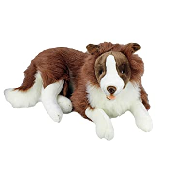 Amazon Com Bocchetta Plush Toys Border Collie Fudge Extra Large