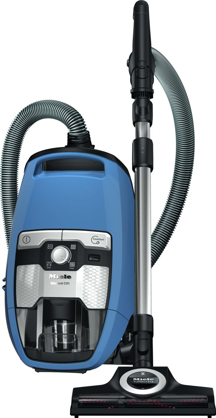 Miele Blizzard CX1 Turbo Team Bagless Canister Vacuum Tech Blue (41KCE042USA) by Miele