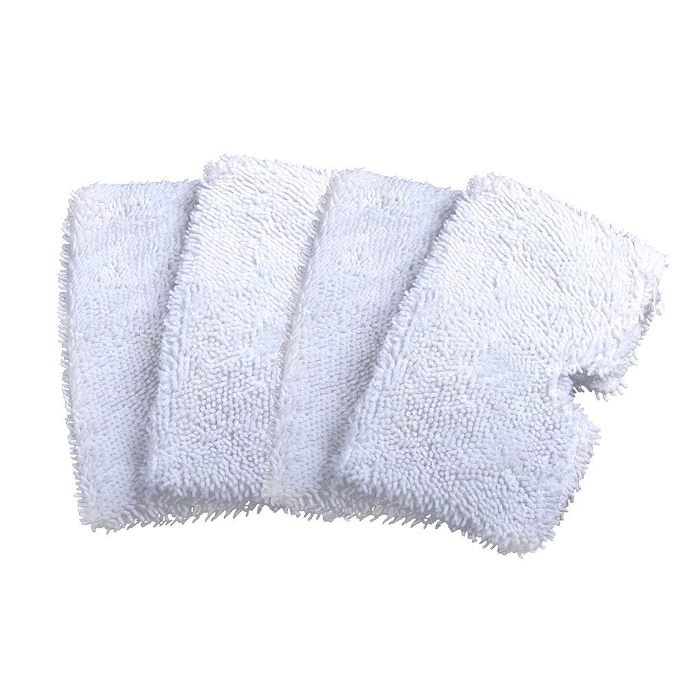 Model 19402 19404 19408 19409 1940a 1940f 1940q 1940t 1940w B0006 B0017 Rongbenyuan Bissell Steam Mop Pads 4 pcs for Bissell Powerfresh Steam Mop 1940 1440 1544 1806 2075 Series