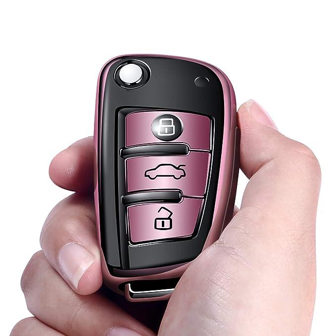 Amazon.com: Autophone for Audi Key Fob Cover Case Premium ...